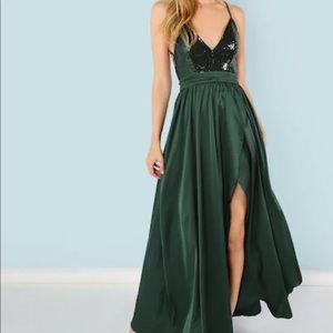 SHEIN floor-length gown
